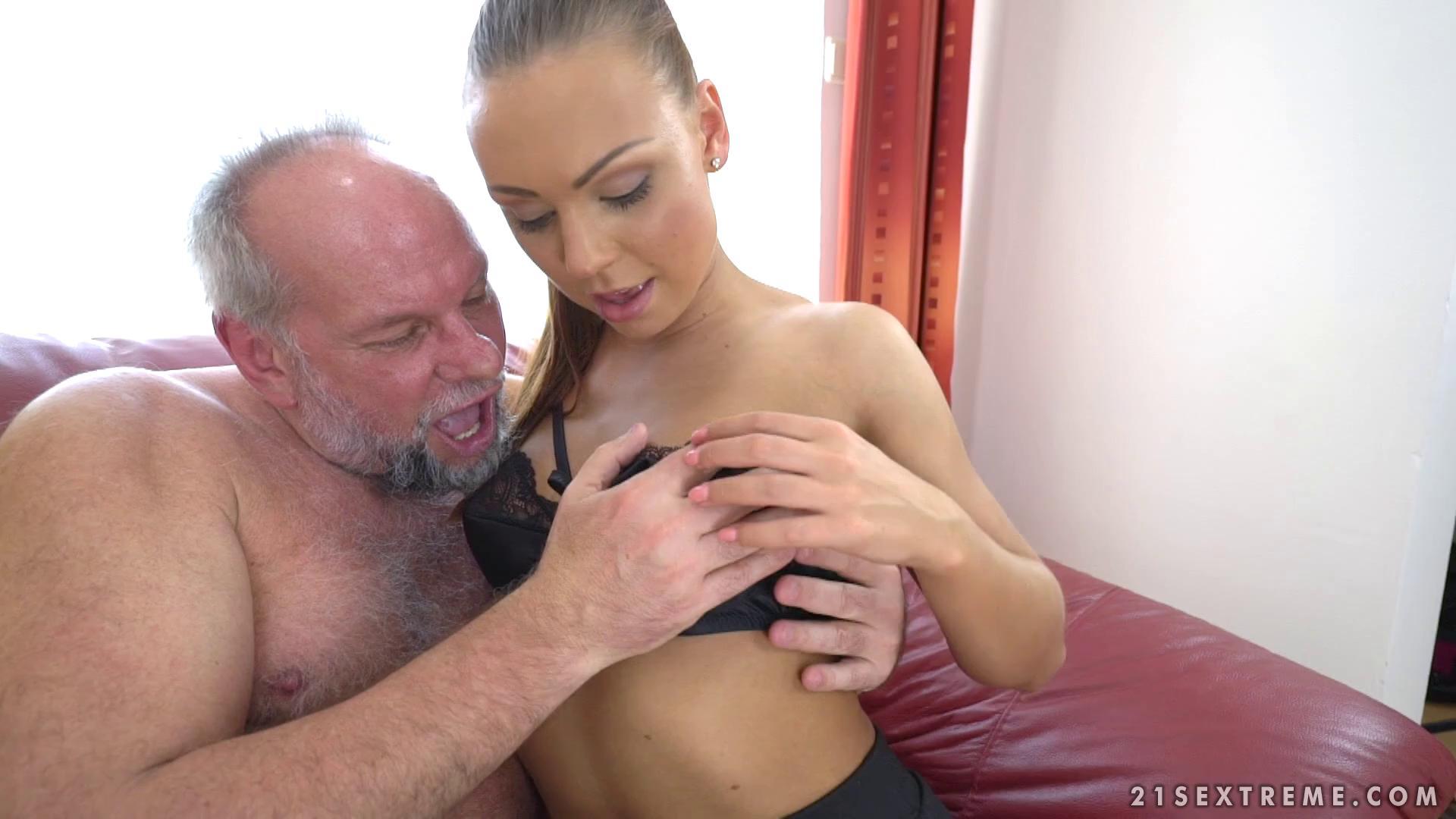 GrandpasFuckTeens – Ornella Morgan Pleasing Naughty Grandpa
