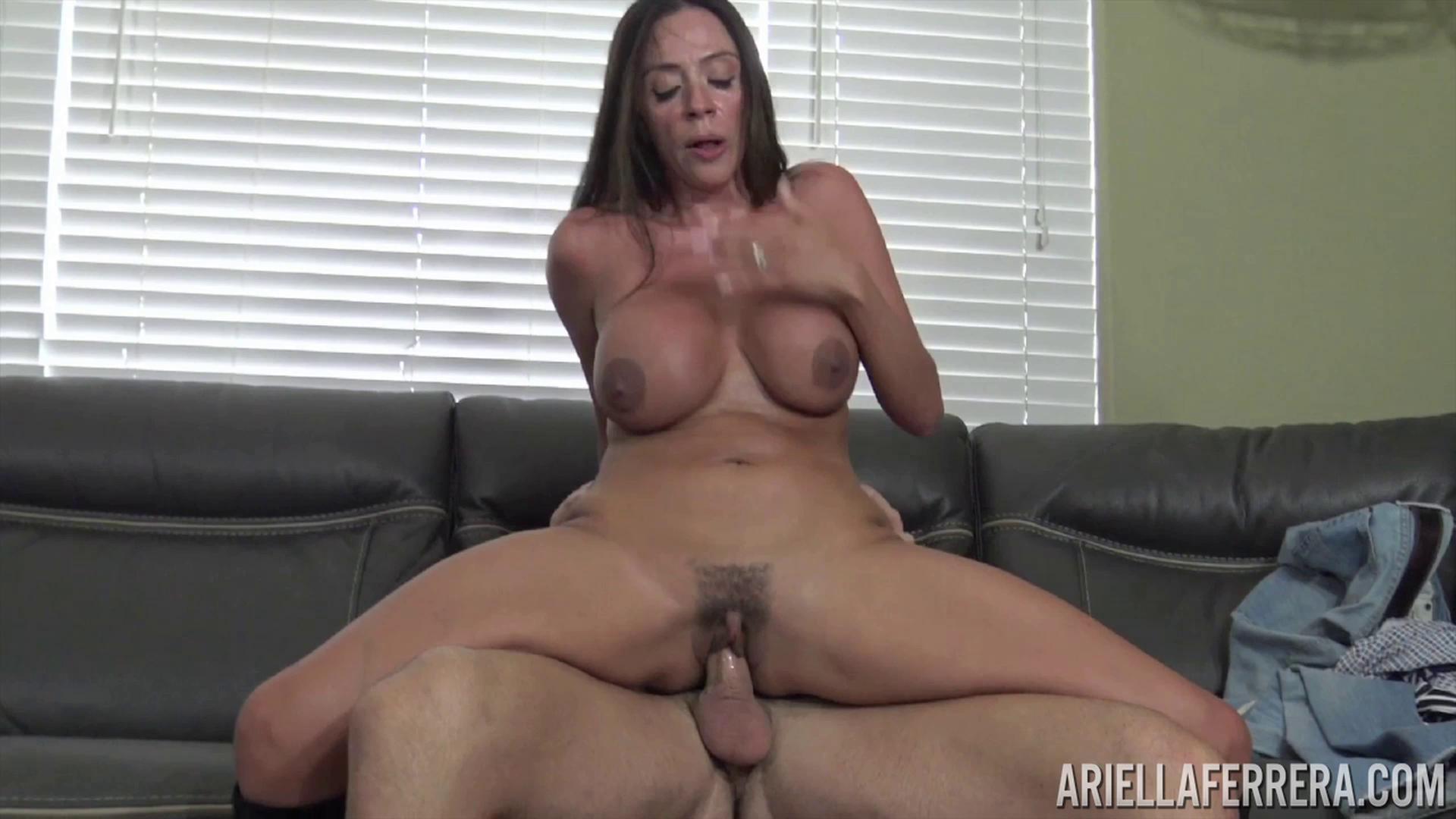 PornstarPlatinum – Ariella Ferrera Casting Couch Coochie