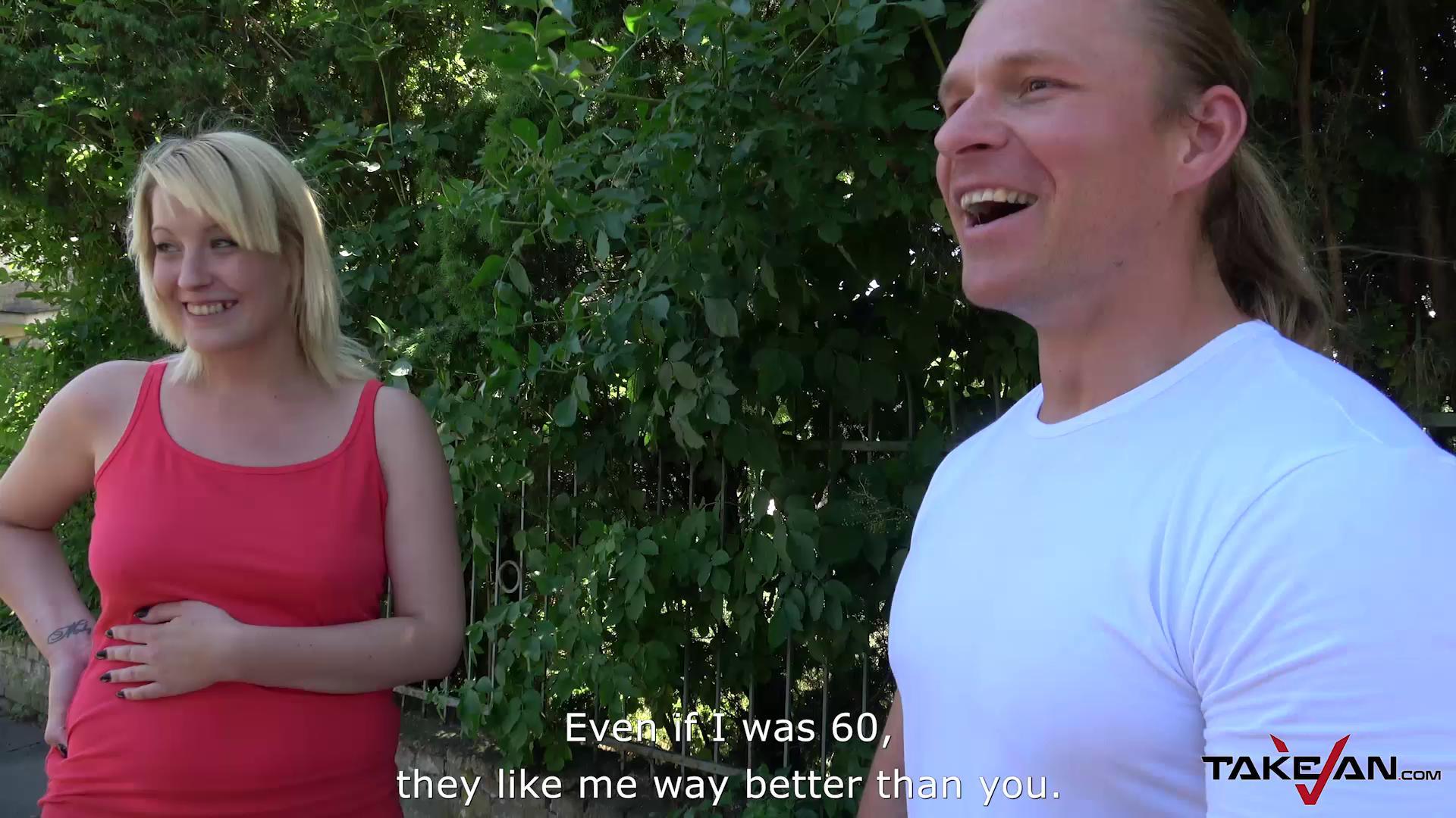 TakeVan – Meky Sperm Coat For Huge Tits