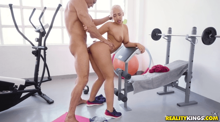 MonsterCurves: Working Out With Briana – Briana Bounce