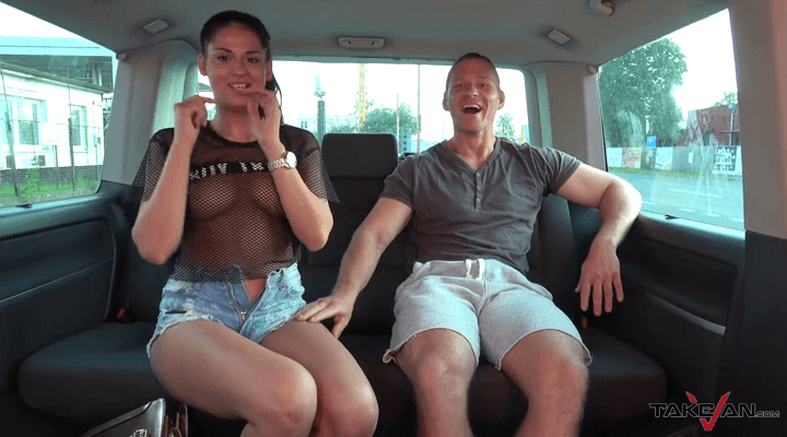 TakeVan – Coco Horny – Foreign Bitch Couldnt Resist Big Czech Dick