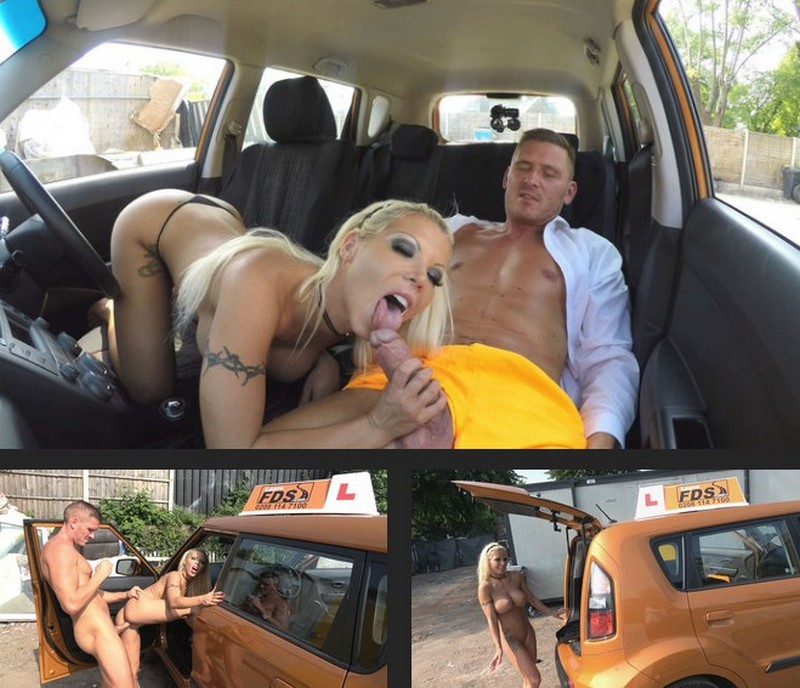 FakeDrivingSchool – Barbie earns her pass with a facial – Barbie Sins